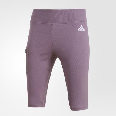 ผู้หญิง Sportswear สีม่วง CYCLING SHORT W