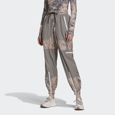 Women adidas by Stella McCartney Pink adidas by Stella McCartney Future Playground Woven Pant