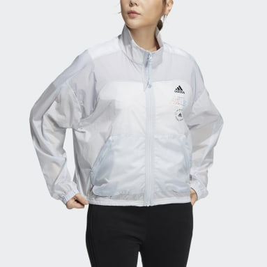 Women Sportswear Blue Track Top