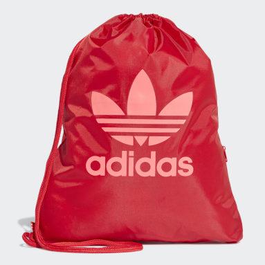 Originals Red Trefoil Gym Sack