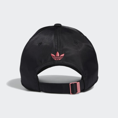 Women's Originals Black Sleek Strap-Back Hat
