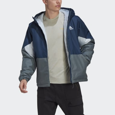 Men's TERREX Blue Back to Sport Insulated Jacket