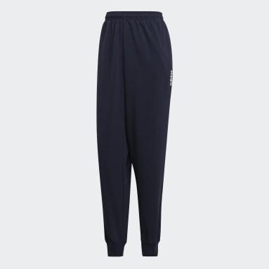 Pantalón Essentials Plain Tapered Stanford Azul Hombre Training