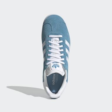 Chaussure Gazelle Bleu Femmes Originals