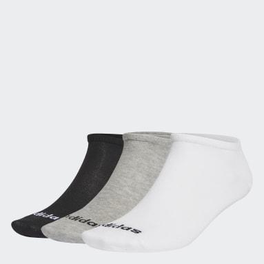 Sportswear grijs No-Show Sokken 3 Paar