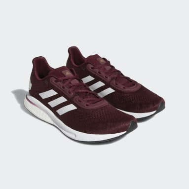 Running Red Aggies Supernova Shoes
