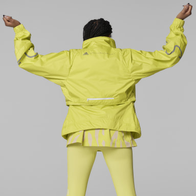 Women adidas by Stella McCartney Yellow adidas by Stella McCartney TruePace Two-in-One Jacket