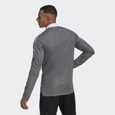 Men's Lifestyle Grey Tiro 21 Track Jacket