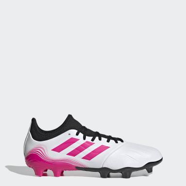 Zapatos de fútbol Copa Sense.3 Terreno Firme Blanco Hombre Fútbol