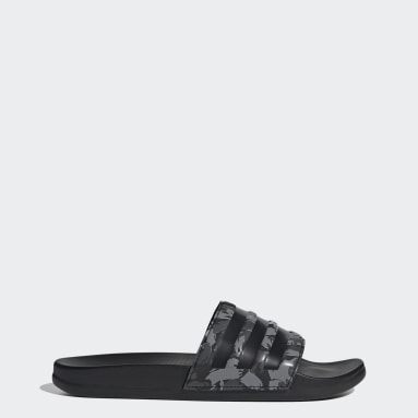 Men's Yoga Grey Adilette Comfort Slides