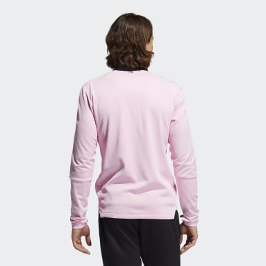 Men's Soccer Pink Inter Miami CF Warm Top