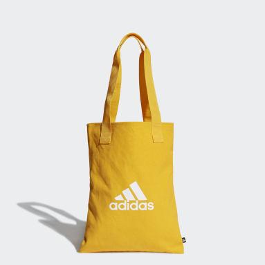 ไลฟ์สไตล์ สีเหลือง กระเป๋าช้อปปิ้งผ้าแคนวาส