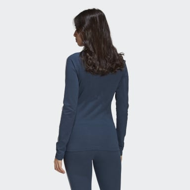 Women Originals Blue Fakten Long-Sleeve Top