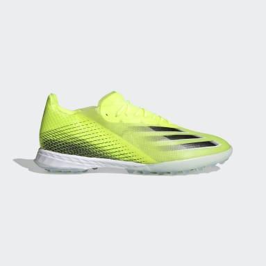 Zapatos de fútbol X Ghosted.1 Pasto Sintético Amarillo Hombre Fútbol