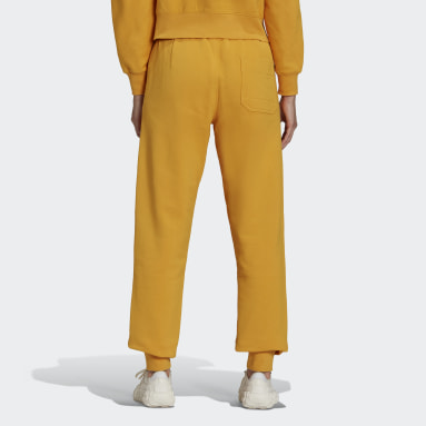 Women's Y-3 Yellow Y-3 Classic Terry Cuffed Pants