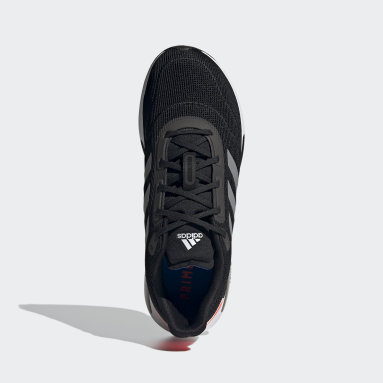 Running Black Galaxar Run Shoes