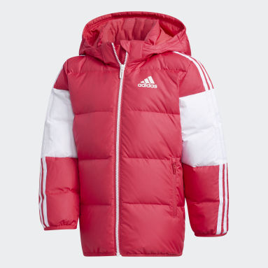 Kids 4-8 Years Gym & Training Pink Down Jacket