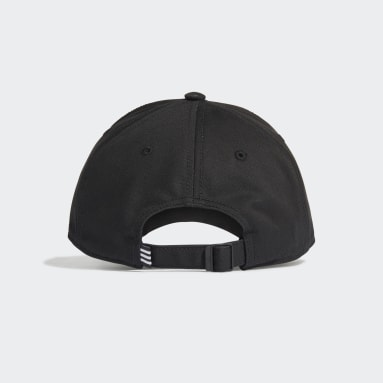 Landhockey Svart Baseball 3-Stripes Twill Cap