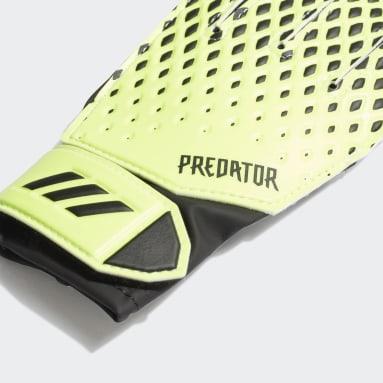 Luvas de Treino Predator 20 Verde Criança Futebol