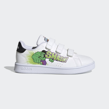 Kids Tennis White Advantage Shoes