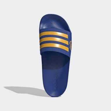 Ojotas adilette Shower Boca Juniors Azul Hombre Natación