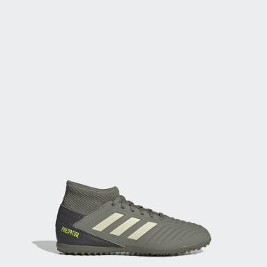 Børn Fodbold Grøn Predator Tango 19.3 Turf støvler