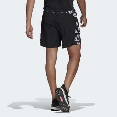 Men Running Black Own The Run Celebration Shorts