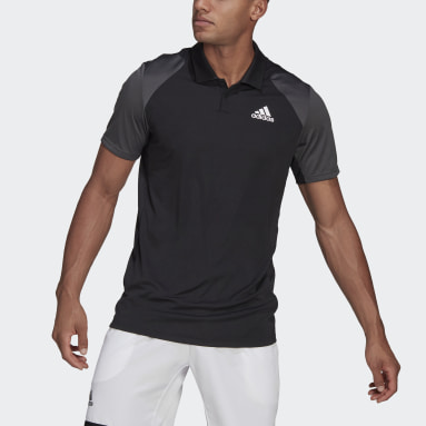 Club Tennis Polo Shirt Czerń