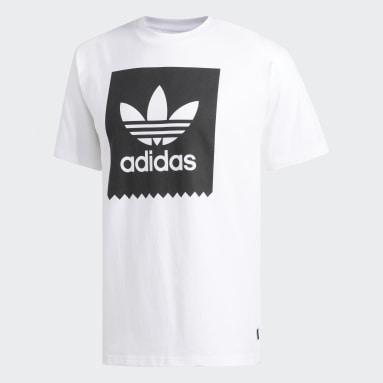 Men Originals White Solid BB T-Shirt