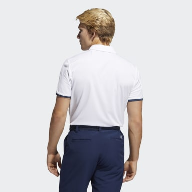 Herr Golf Vit Core Polo Shirt