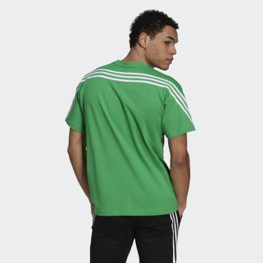 Men Sportswear Green adidas Sportswear 3-Stripes Tee