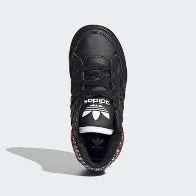 Kids Originals Black Hardcourt Hi Shoes