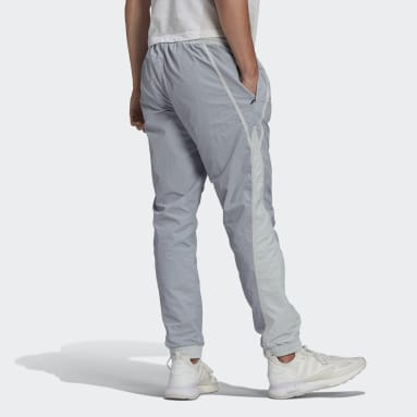 Men's Originals Grey R.Y.V. V-Line Woven Track Pants