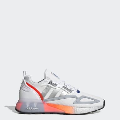 Men's Originals White ZX 2K Boost Shoes