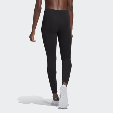 Women Sport Inspired Black Essentials 7/8 Leggings