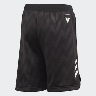 Shorts XFG Negro Niño Training
