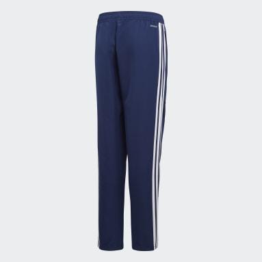 Kinder Fitness & Training Tiro 19 Woven Hose Blau