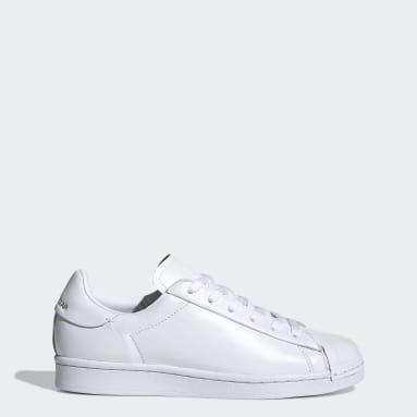 Sapatos SuperstarPure Branco Mulher Originals