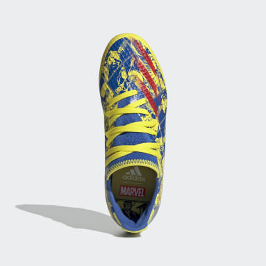 Chaussure Marvel X Ghosted.3Terrain souple Bleu Enfants Soccer