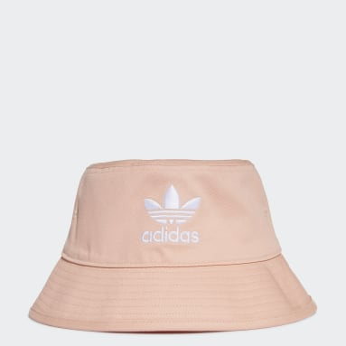 Gorro Trefoil Bucket Rosa Originals