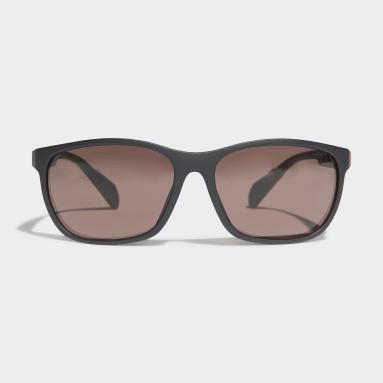 Beh čierna Slnečné okuliare SP0014 Matte Black Injected Sport