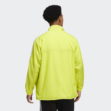 Men's Originals Yellow Reverse Track Jacket