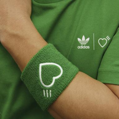 Originals Green Human Made Wristbands and Headband