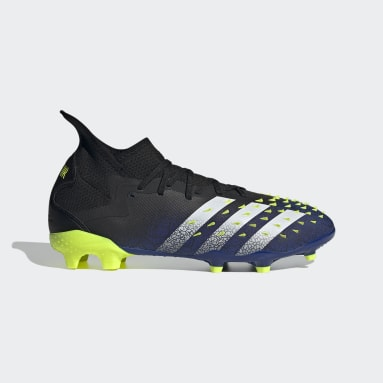 Men Football Black Predator Freak.2 Firm Ground Boots