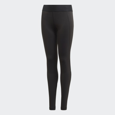 Tight Techfit Nero Ragazza Yoga