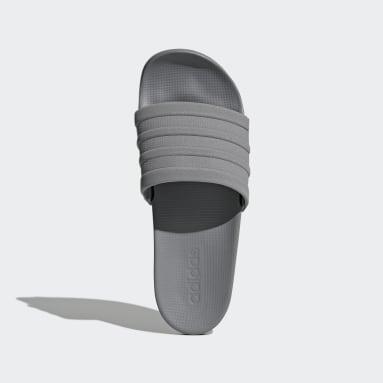 Lifestyle Grey Adilette Comfort Slides