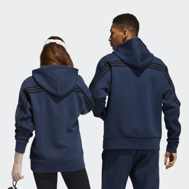 Training Blue adidas x Peloton Hoodie (Gender Neutral)