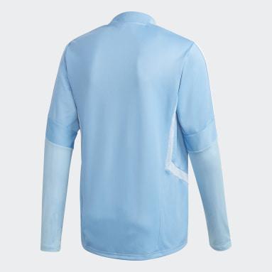 Camiseta entrenamiento Tiro 19 Azul Hombre Fútbol