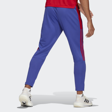 Men Football Purple Tiro Primeblue Training Pants