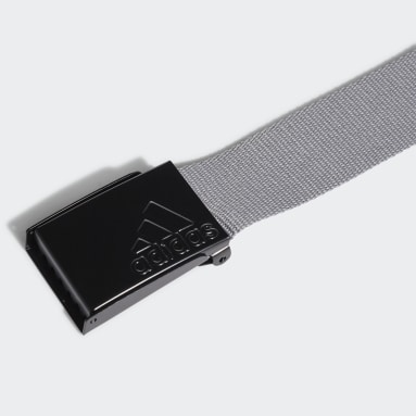 Men Golf Grey Reversible Web Belt